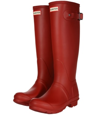 Women's Hunter Original Tall Wellington Boots - Military Red