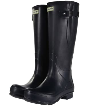 Men's Hunter Norris Field Adjustable Wellingtons - Navy