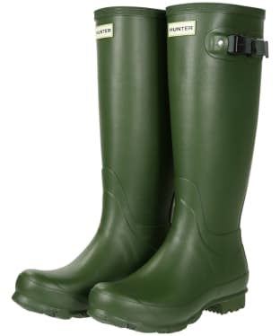 Women's Hunter Norris Field Wellington Boots - Vintage Green