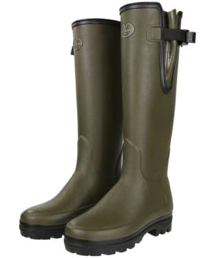 Women's Le Chameau Vierzonord Neo Wellington Boots - Vert Chameau