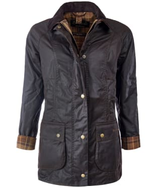 Women's Barbour Beadnell Wax Jacket - Rustic