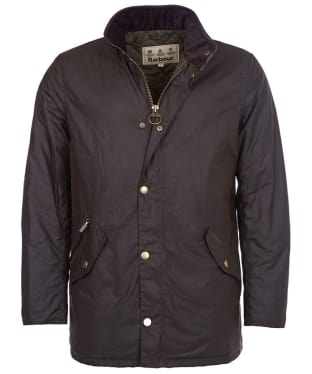 Men's Barbour Prestbury Wax Jacket - Olive