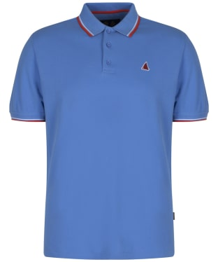 Men's Musto Miles Tipped Polo Shirt - Regatta Blue