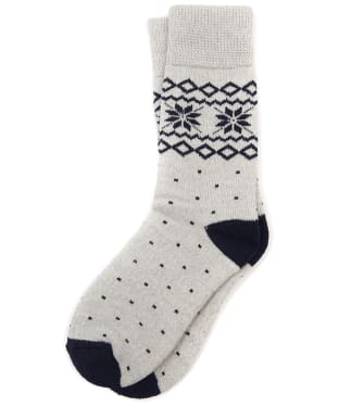 Women's Barbour Glacier Socks - Grey