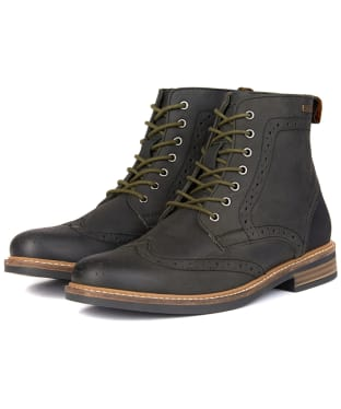 Men's Barbour Belsay Boots - Black
