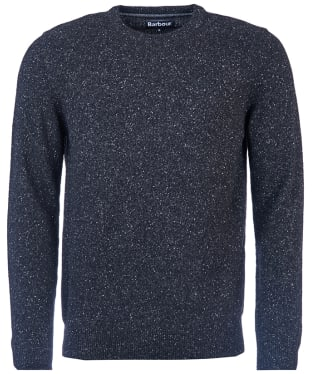 Men's Barbour Tisbury Crew Neck Sweater - Black