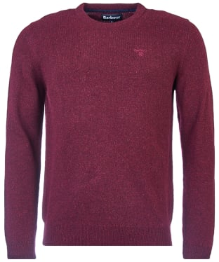 Men's Barbour Tisbury Crew Neck Sweater - Ruby