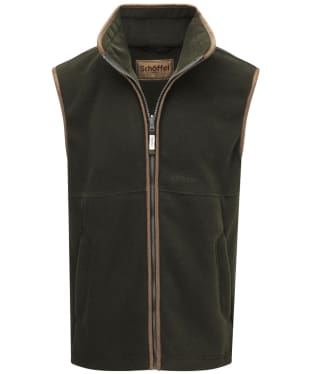 Men's Schoffel Oakham Fleece Gilet - Forest