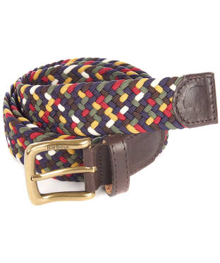 Men's Barbour Tartan Belt Gift Box - Barbour Classic