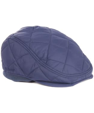 Men's Barbour Quilted Foldaway Cap - Navy