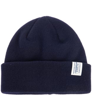 Men's Barbour Lambswool Watch Cap - Navy