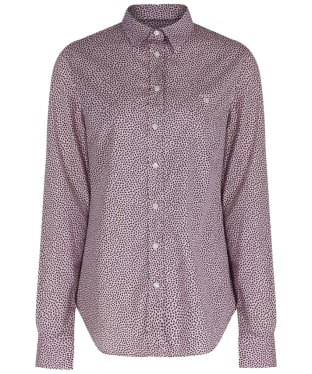 Women's GANT Broad Cloth Leaf Shirt