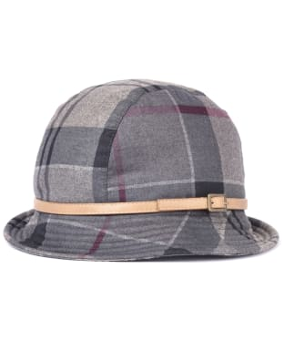 Women's Barbour Winter Tartan Trench Hat - Winter Tartan