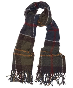 Women's Barbour Tartan Boucle Scarf