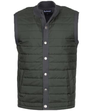 Men's Barbour Essential Gilet - Charcoal