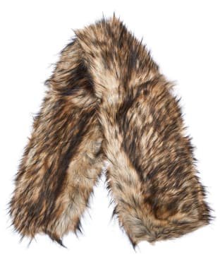 Women's Barbour Fur Wrap - Natural