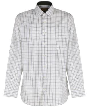 Men's Schoffel Tattersall Shirt - River Bed