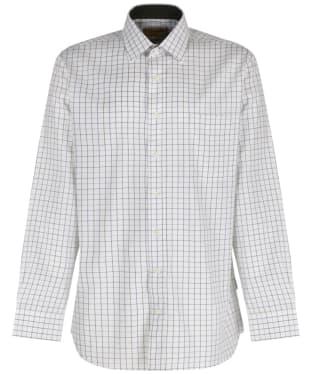 Men's Schoffel Burnham Tattersall Shirt - River Bed