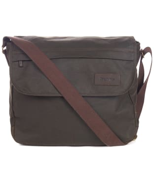 Barbour Wax City Messenger Bag - Olive