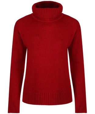 Women's Barbour International Endo Knit - Deep Red