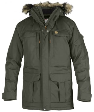 Men's Fjallraven Yupik Waterproof Parka - Mountain Grey