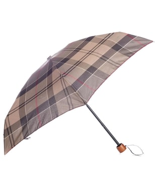 Women's Barbour Tartan Handbag Umbrella - Winter Tartan