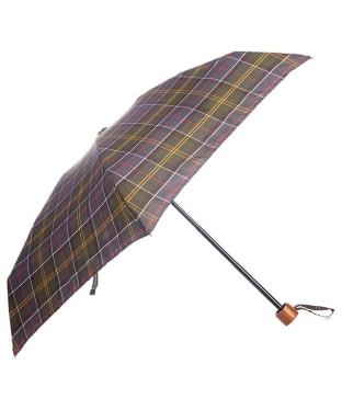Women's Barbour Tartan Handbag Umbrella