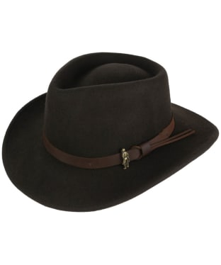 Men's Jack Murphy Boston Jack Felt Hat - Brown