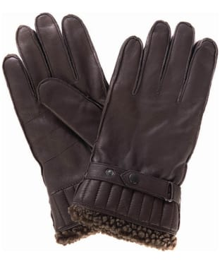 Men's Barbour Tindale Leather Gloves