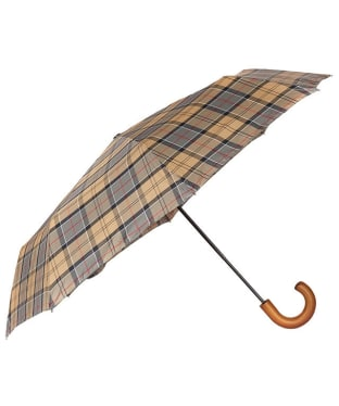 Barbour Tartan Telescopic Umbrella - Dress Tartan