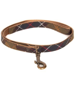 Barbour Tartan Webbing Dog Lead
