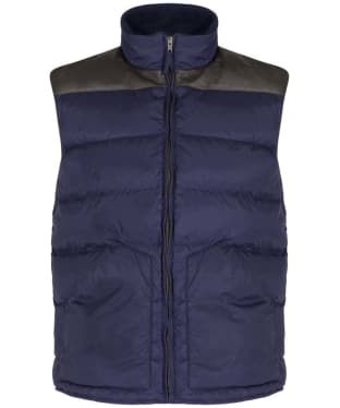 Men's R.M. Williams Buller Vest - Navy