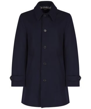 Men's Aquascutum Logan Coat - Navy