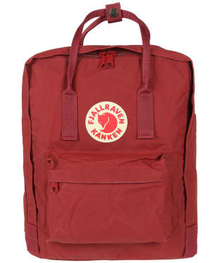 Fjallraven Kanken Backpack - Oxford Red