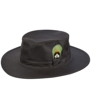 Jack Murphy Waxed Aussie Hat - Brown