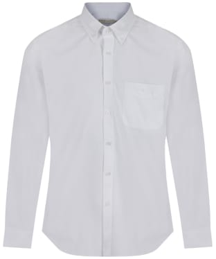 Men's R.M. Williams Collins Oxford Cotton Shirt - White
