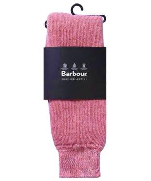 Women's Barbour Wellington Socks - Pink