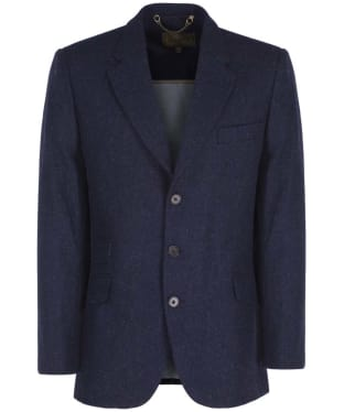 Men's Dubarry Gorse Tweed Tailored Jacket - Regular Length - Navy