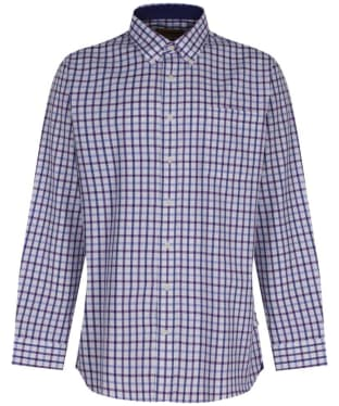 Men's Schoffel Brancaster Shirt - Purple