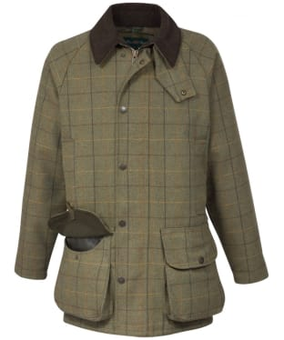 Men's Alan Paine Rutland Waterproof Coat - Dark Moss