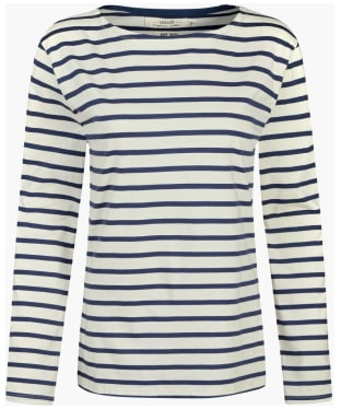 Women's Seasalt Sailor Shirt - Breton Ecru Night
