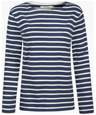 Women's Seasalt Sailor Shirt - Breton Night Ecru