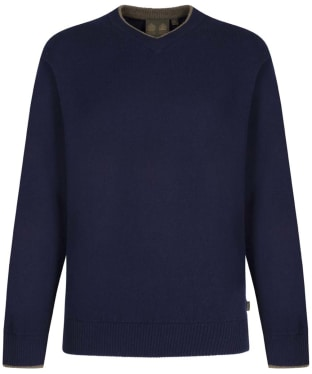 Men's Musto Shooting V-Neck Sweater - True Navy