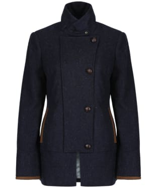 Women's Dubarry Willow Tweed Sport Jacket - Navy