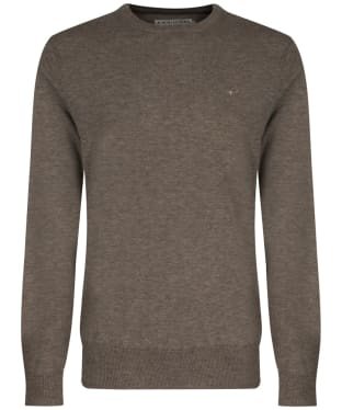 Men's R.M. Williams Howe Crew Neck Sweater - Taupe
