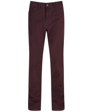 Men's Ptarmigan Cotton Twill Carrera Jeans - Mulberry