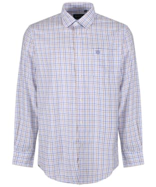 Men's Alan Paine Ilkley Shirt - Blue / Beige