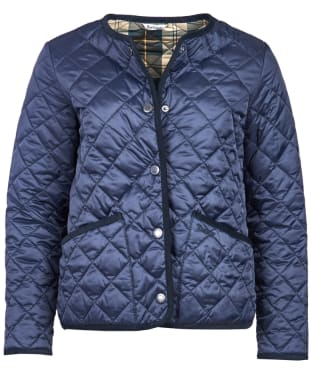 Women's Barbour  Oversized Liddesdale Jacket - Navy