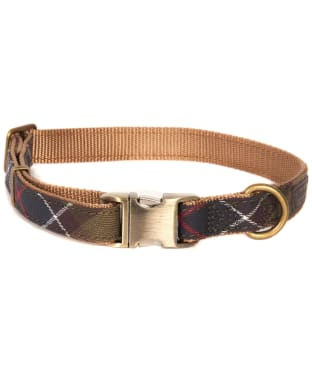Barbour Tartan Webbing Dog Collar - Barbour Classic