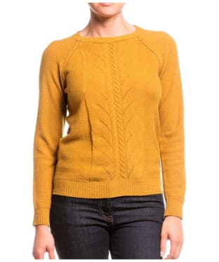 Women's Aigle Talca Cable Knit Jumper - Turmeric